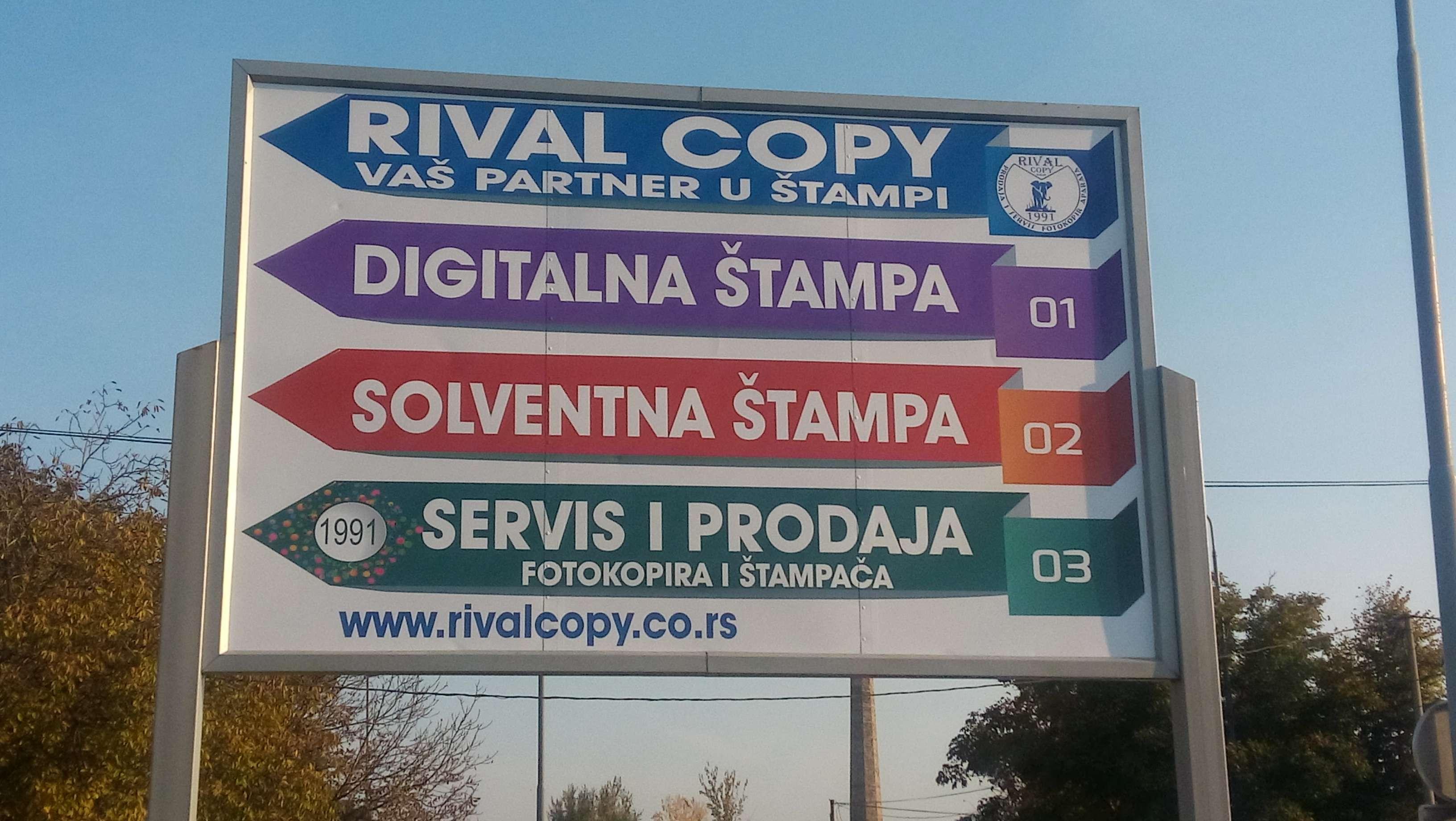 Rival copy