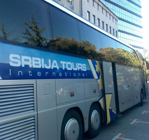 Autobuski Prevoz Za Nemacku Srbija Tours International Yellow