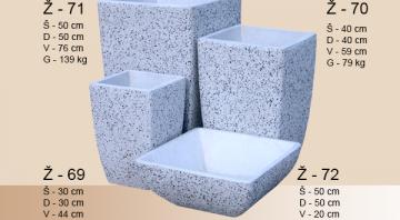 Izrada betonske galanterije i betonskih žardinjera