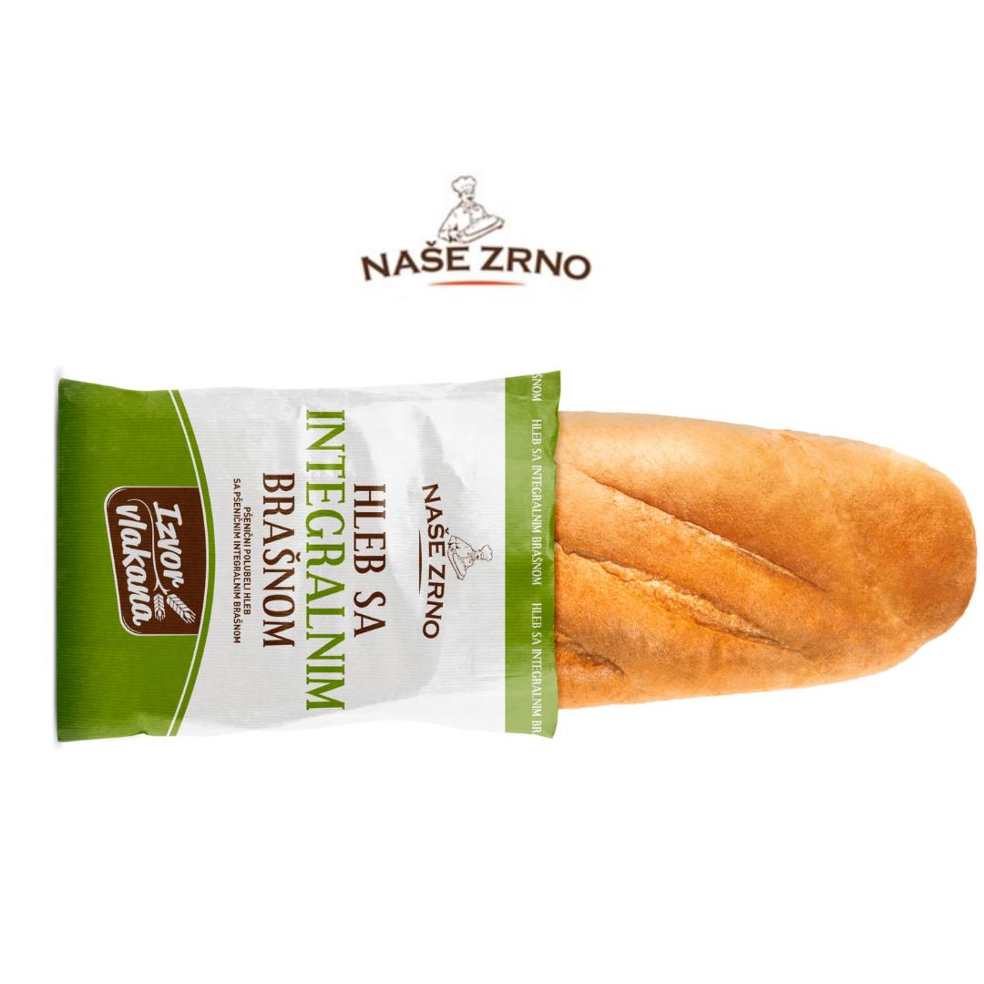 Hleb sa integralnim brašnom