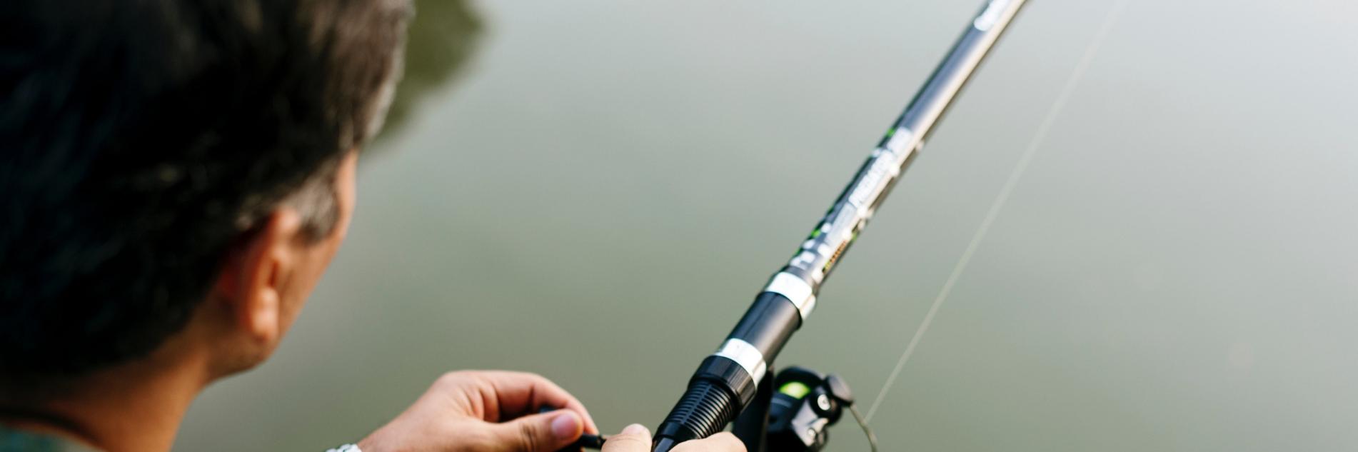 ribolovački štap, štapovi