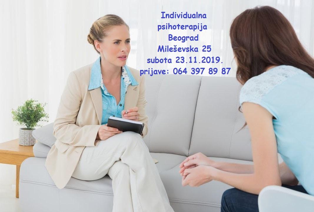 Individualna psihoterapija u Beogradu
